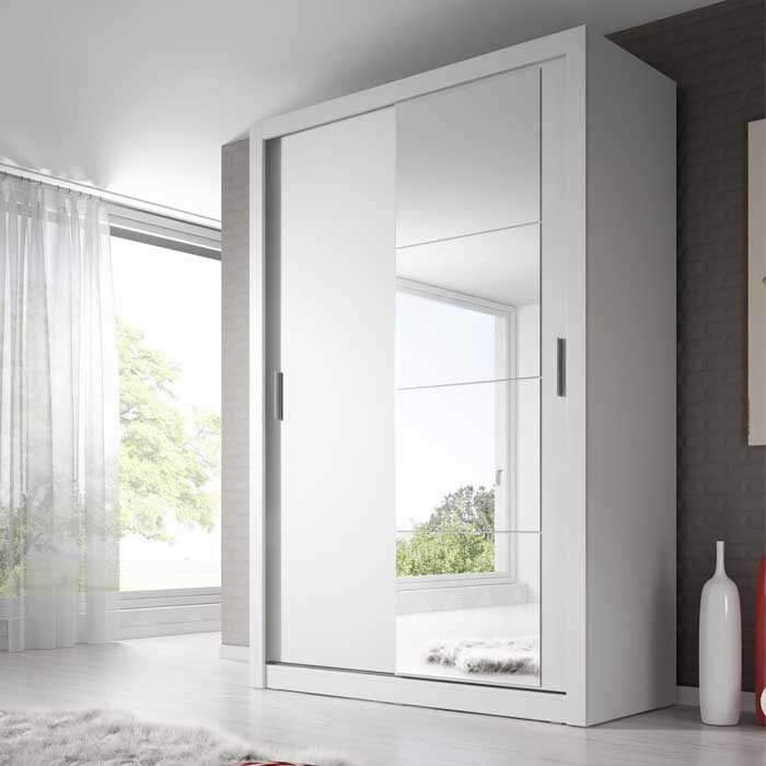 Denmark Large Sliderobe White