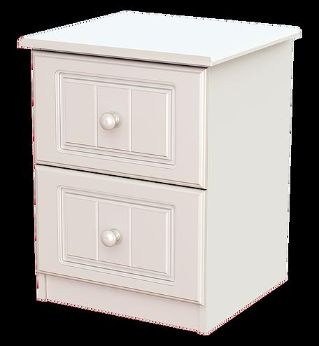 Eden 2 Drawer Locker White