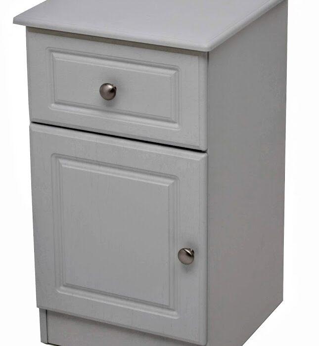 Eden 1 drawer 1 door grey