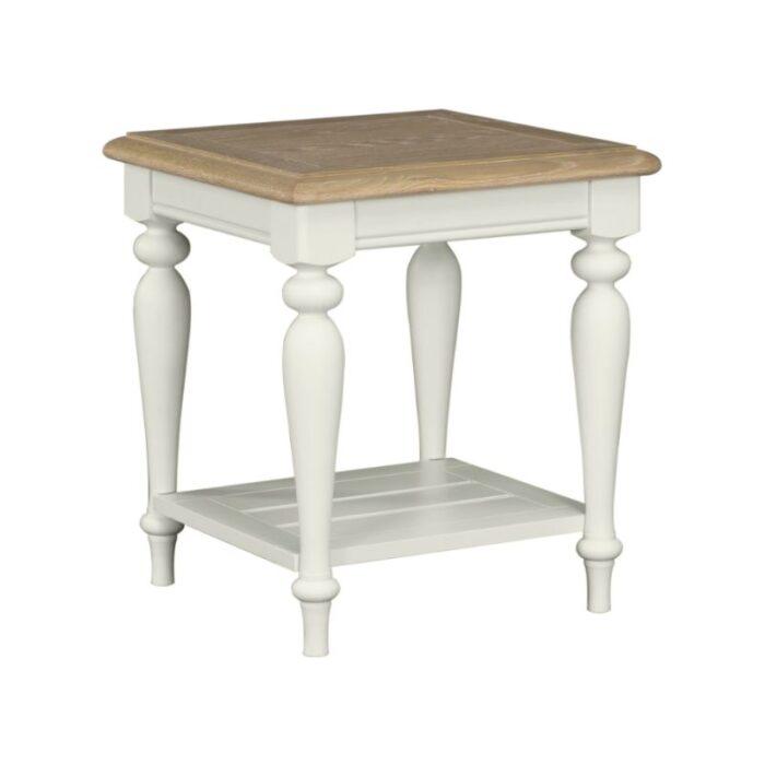 Megan Oak Lamp Table